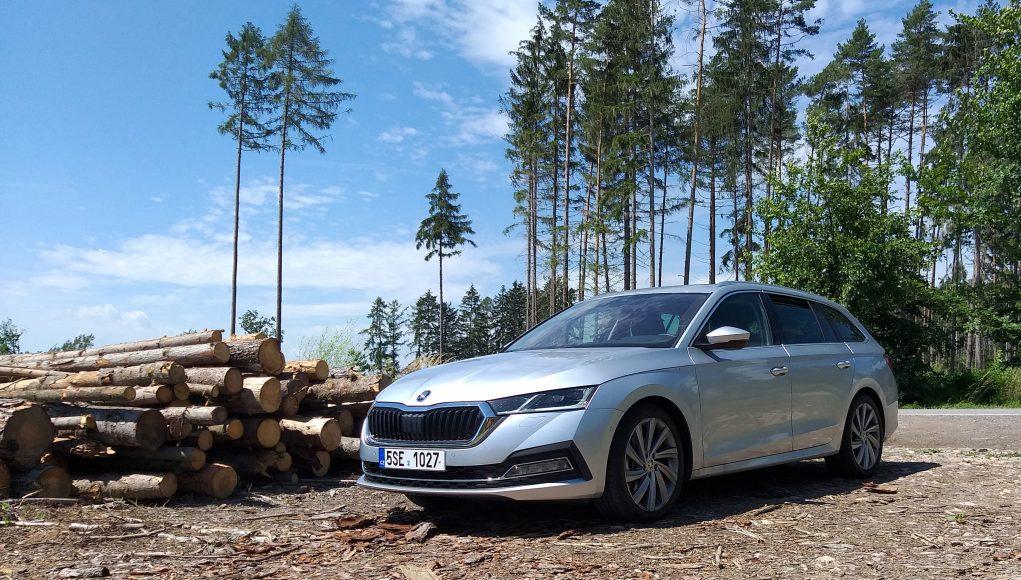 Škoda Octavia, auto, les