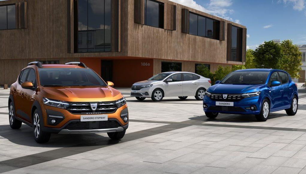 Dacia, Loga, Sandero, auta