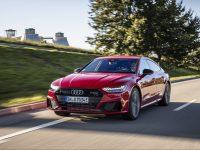 auto, červené, Audi
