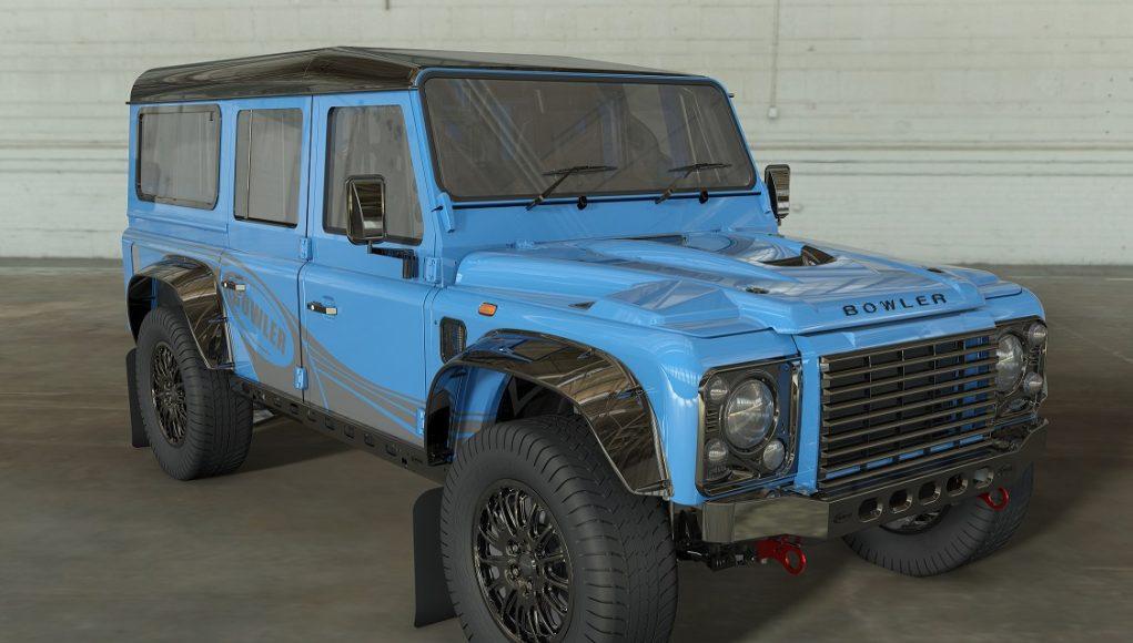 auto, suv, modré