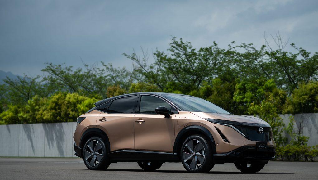 auto, elektromobil, Nissan