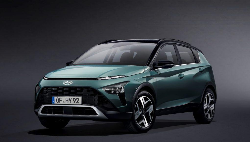 SUV, auto, zelené, Hyundai