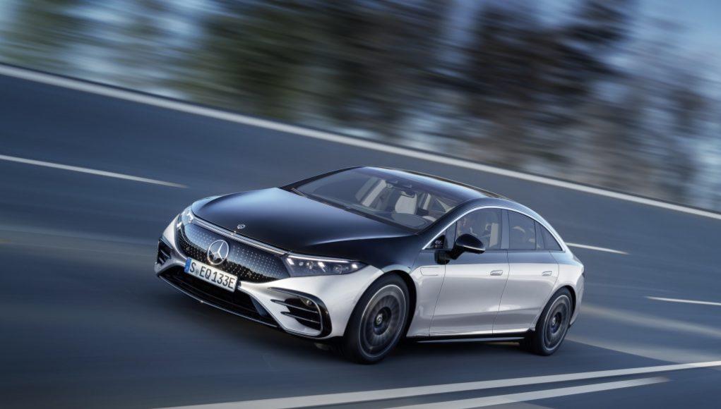 Mercedes, EQS, elektromobil