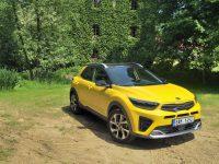auto, žluté, kia, stonic