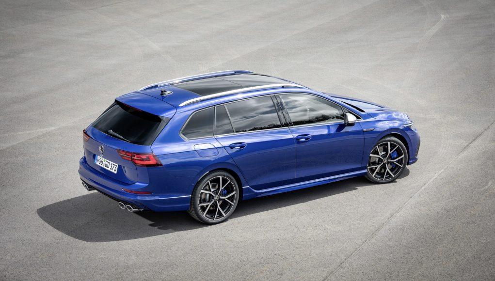 auto, modré, kombi, Volkswagen Golf