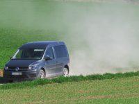 auto, prach, cesta