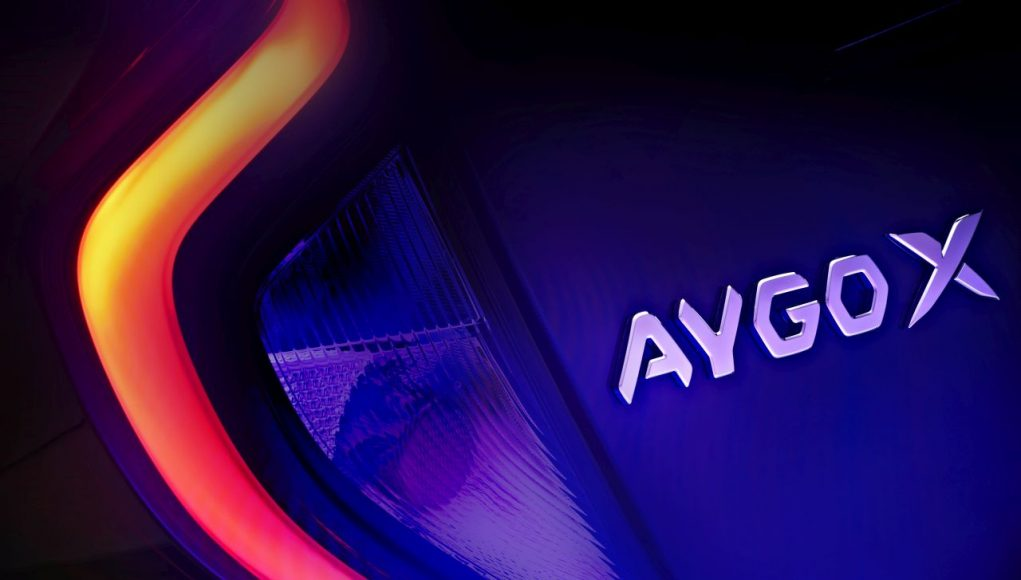 auto, světlo, Aygo X